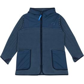 Finkid Kids Kodikas Fleece Jacket blue mirage/navy